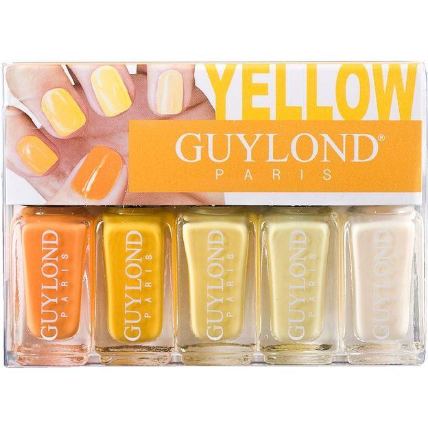 5-teiliges Nagellackset, Yellow