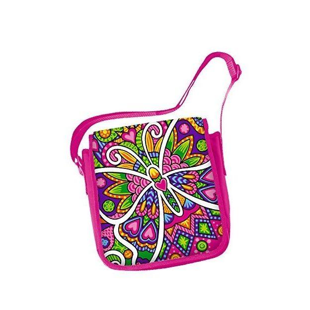 Color me mine Color Change Messenger Bag zum Ausmalen