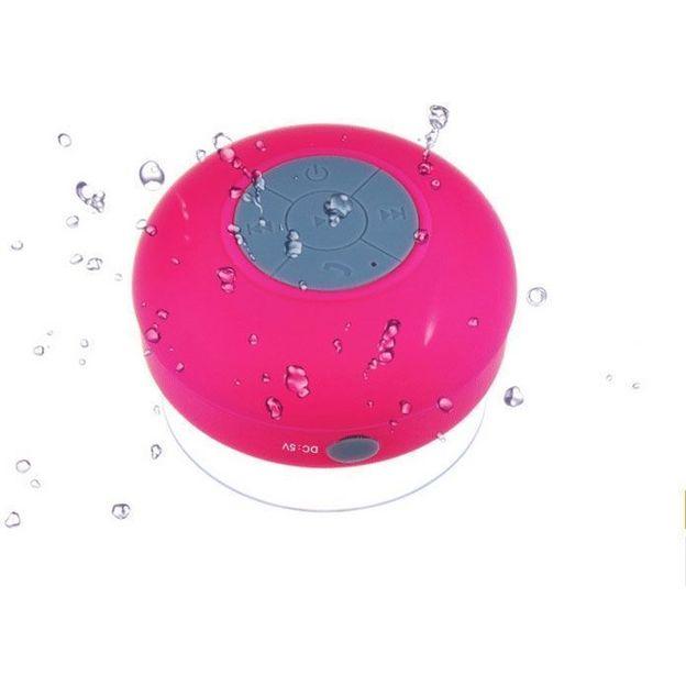 Haut-Parleur Waterproof Bluetooth rose