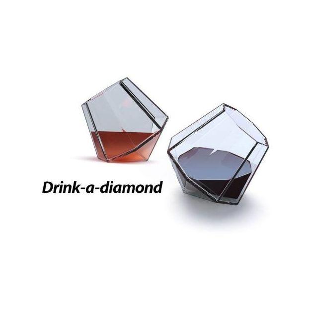 Set de Verres Diamond, 2 pcs