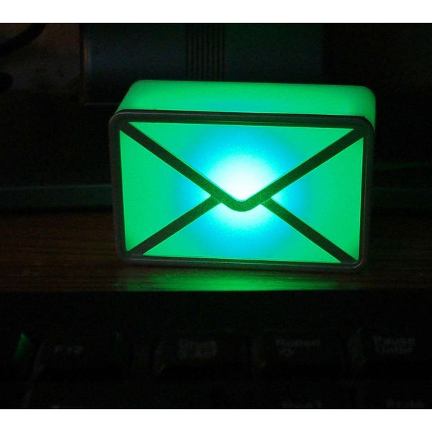 Avertisseur email USB