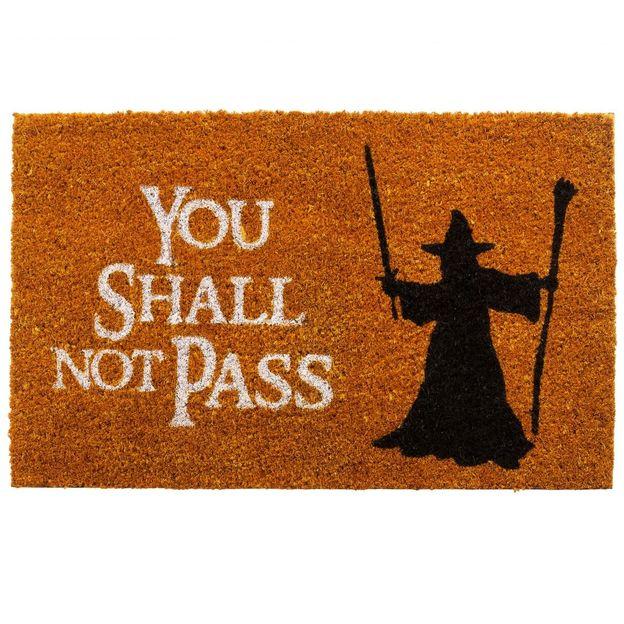 Fussmatte You shall not pass