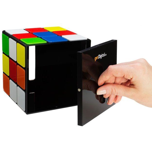Zauberwürfel Taschentuch Box aus Big Bang Theory