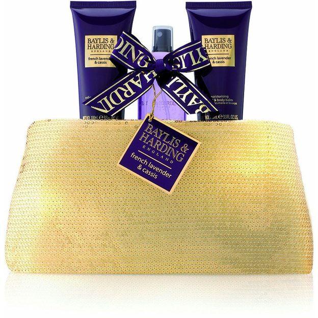 Geschenkset Signature Clutch, Lavender & Cassis