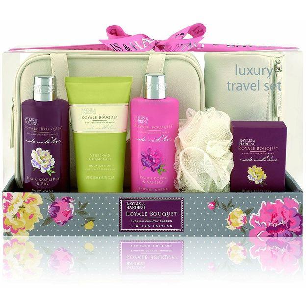 Baylis & Harding Luxury Travel Set, Royale Bouquet