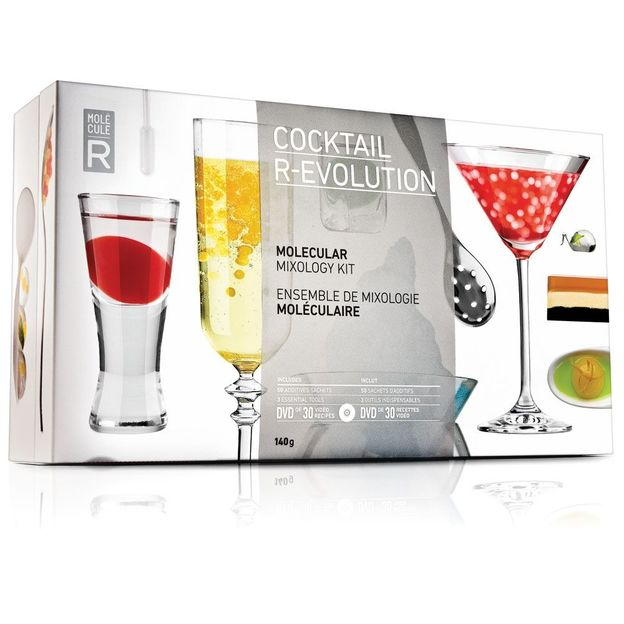 Kit de Cocktail R-Evolution moléculaire