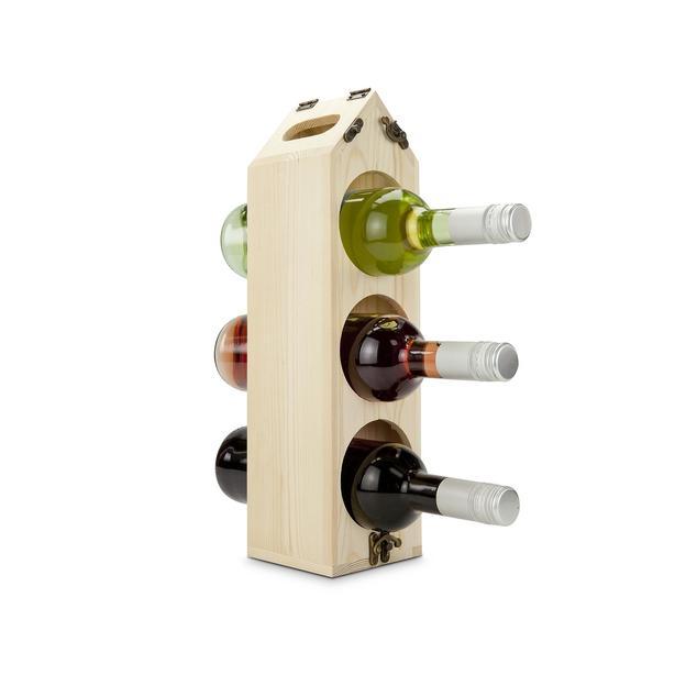 Rackpack - Das geniale Weinregal inkl. 1 Flasche Villa Römer Rotling