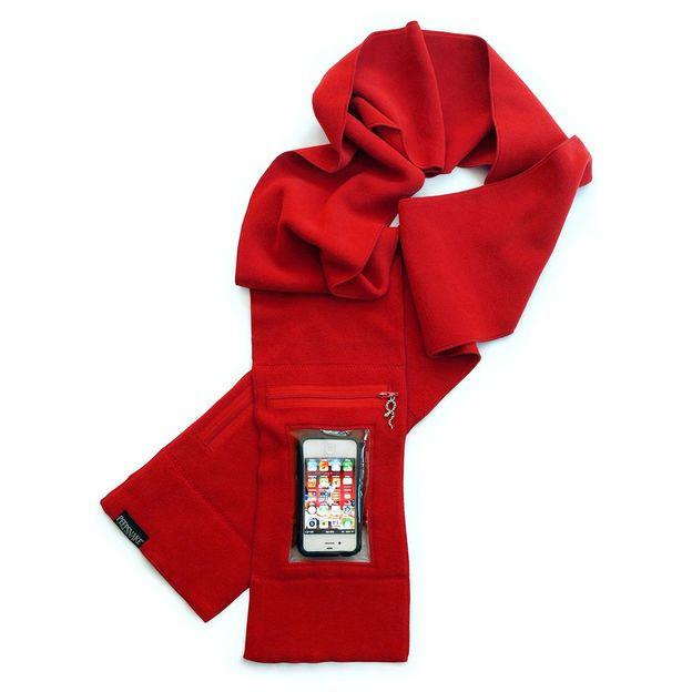 Echarpe Smartphone rouge