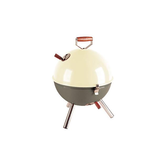Grill Mini BBQ crème / gris-vert
