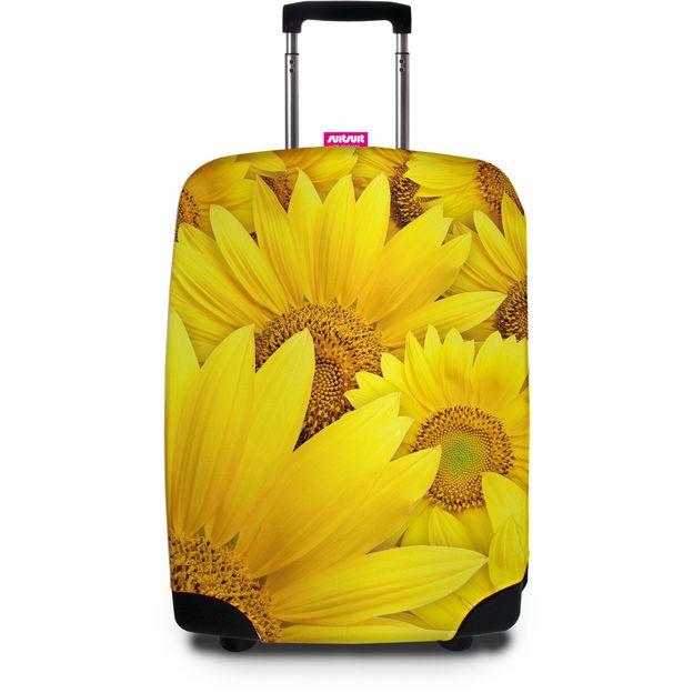 Kofferschutzhüllen SUITSUIT Sunflower