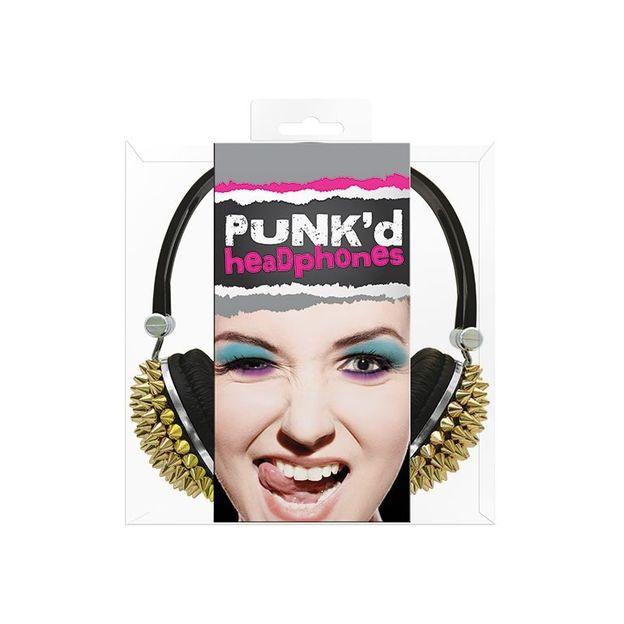 Goldspikes Punk'd Spikey Kopfhörer