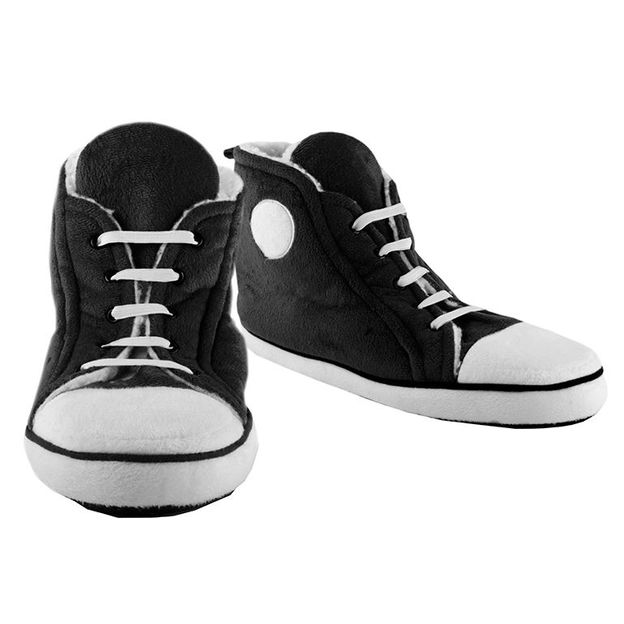 Sneakers chaussons noirs Homme