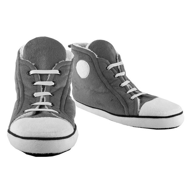 Sneakers chaussons gris Homme