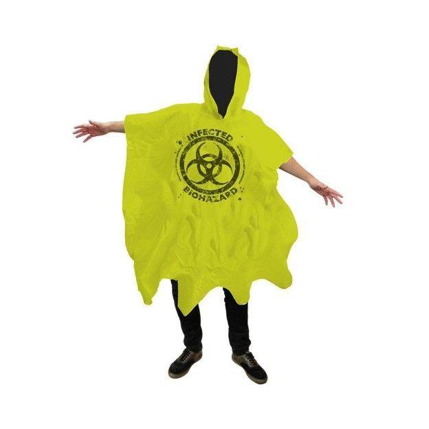 Zombie Biohazard Poncho