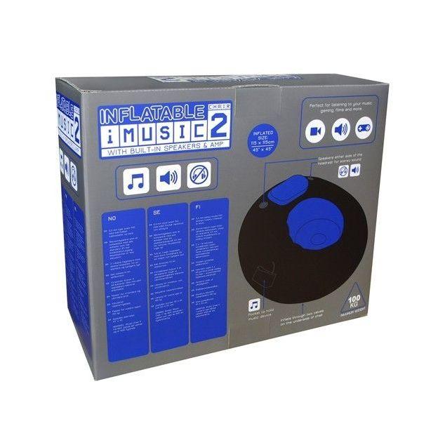 Aufblasbarer iMusic Sessel II mit Lautsprecher