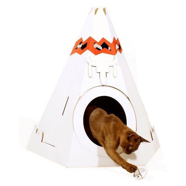 Spielhaus für die Katze Zelt