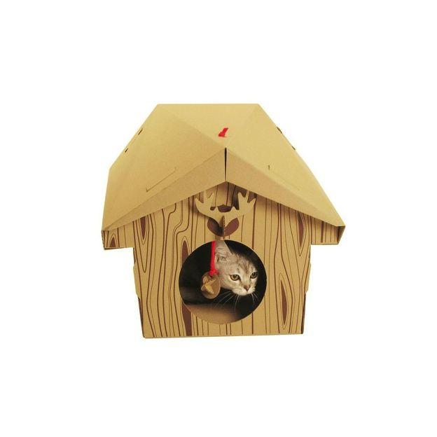 Spielhaus für die Katze Hütte