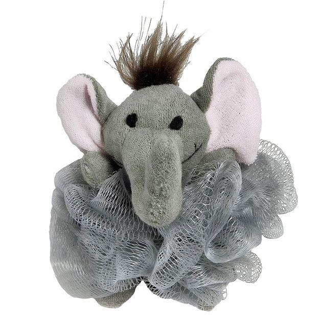 Tierischer Tüll-Schwamm Elefant