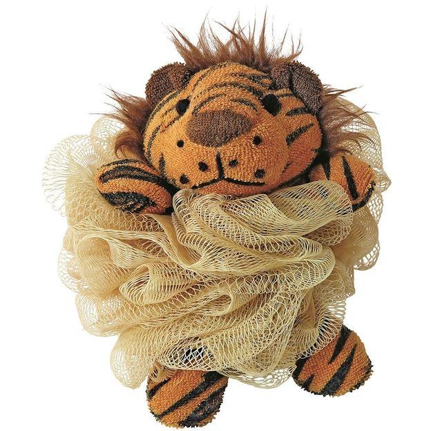 Tierischer Tüll-Schwamm Tiger