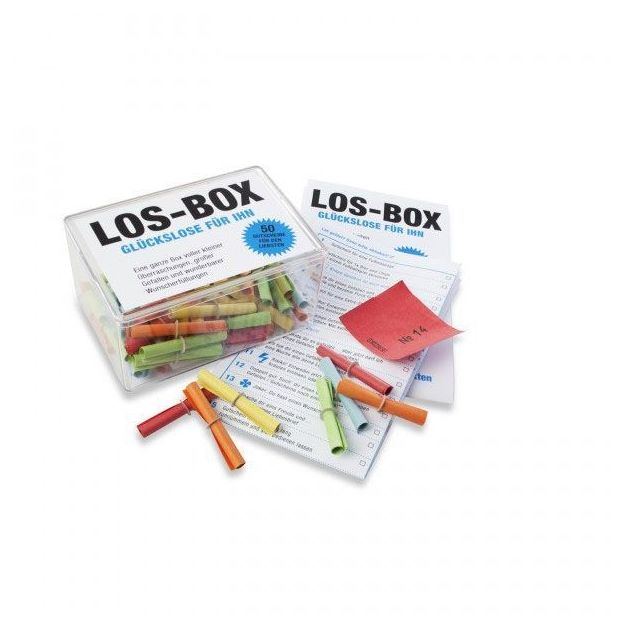 Los-Box für Ihn