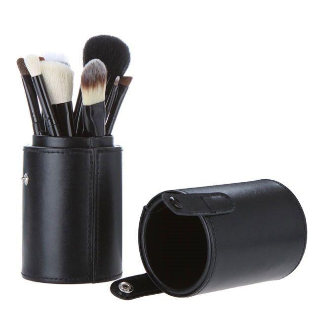 Set Pinceaux Maquillage Avec Bo Te Coffret