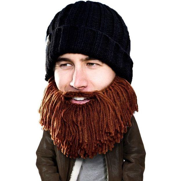Mütze mit Bart Vagabund