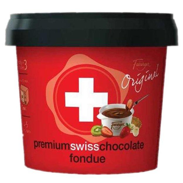 Schokoladen Fondue Set Favarger
