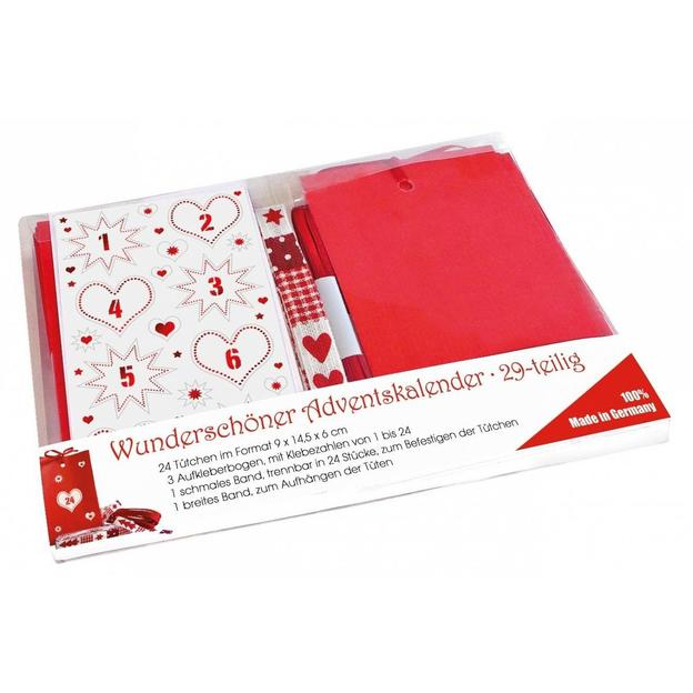 Do it yourself Adventskalender Bastelkit