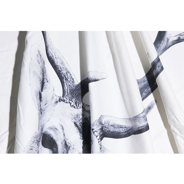 Decke Hirsch 160x130cm