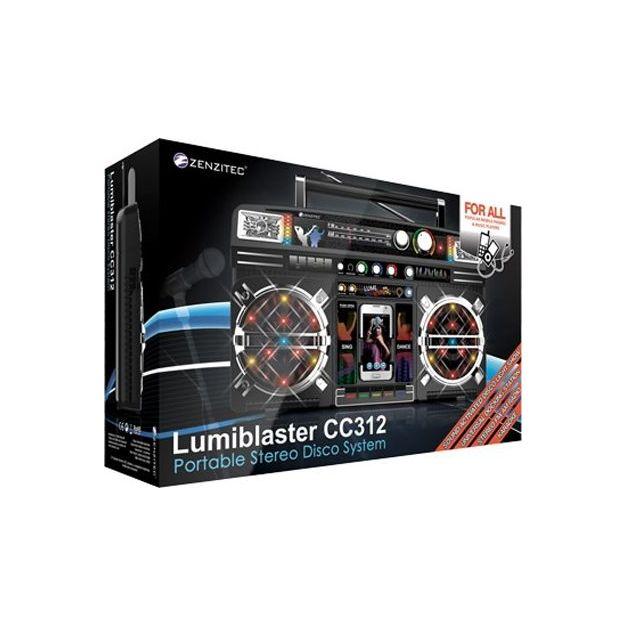 Retro Boombox Lumiblaster