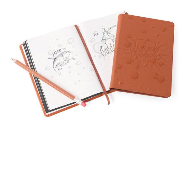 Wasserfestes Notizbuch