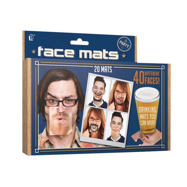 Sous-verres Face Mats