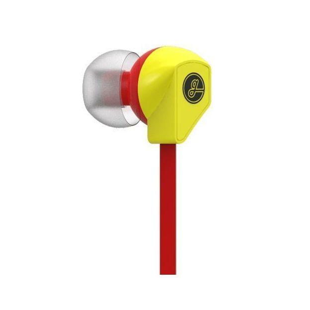 In-Ear Kopfhörer Gavio Gazz+ rot / gelb