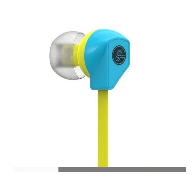 Écouteurs in ear Gavio Gazz+ jaune / bleu ciel