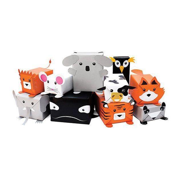 Geschenkpapierset Tiere