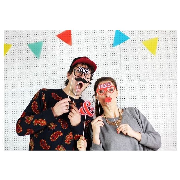 Accessoires Photo Booth Love