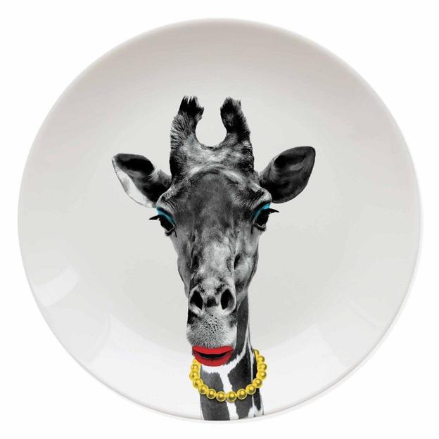 Assiette Wild Dining Gina la Girafe