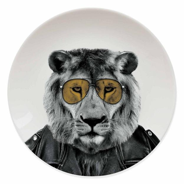 Assiette Wild Dining Larry le Lion