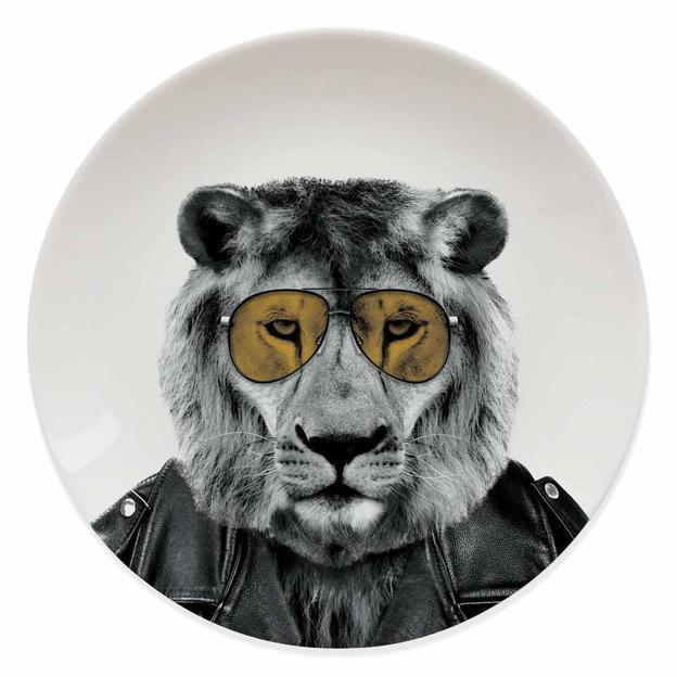 Assiette Wild Dining Larry le Lion