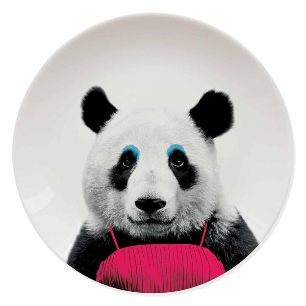 Assiette Wild Dining Patricia le Panda