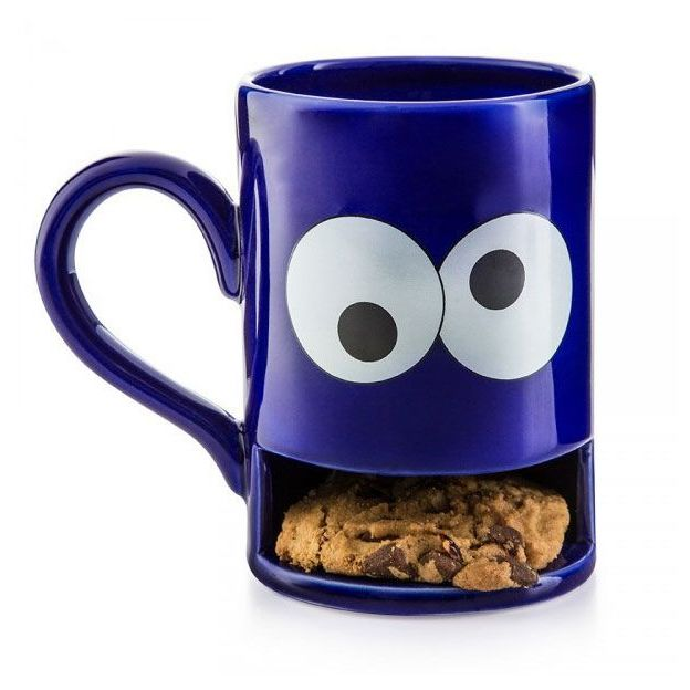 Monster Blue Tasse