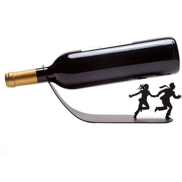 Porte bouteille Sauve qui peut