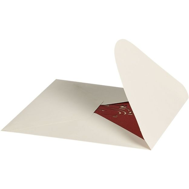 Lot de 3 cartes Popup 3D