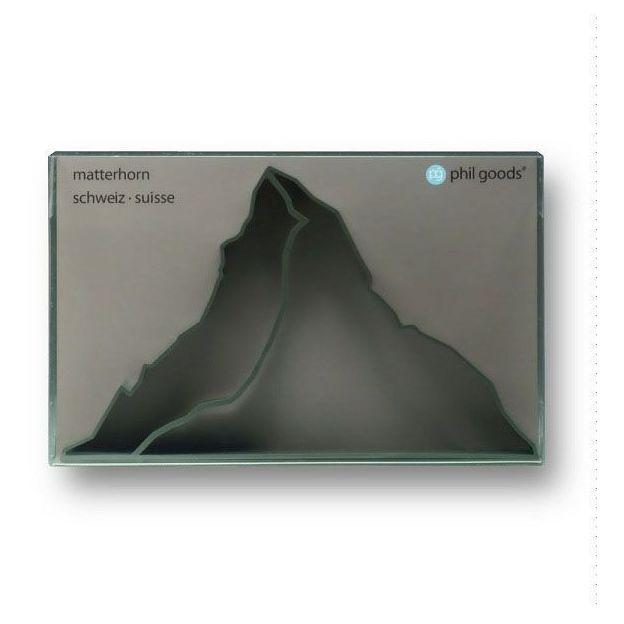 Ausstechform Matterhorn grau