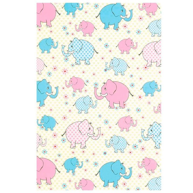 Geschenkpapier Rolle Elefant