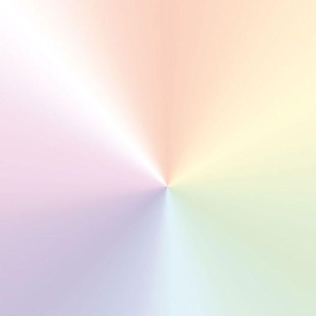 Geschenkpapierrolle Regenbogen