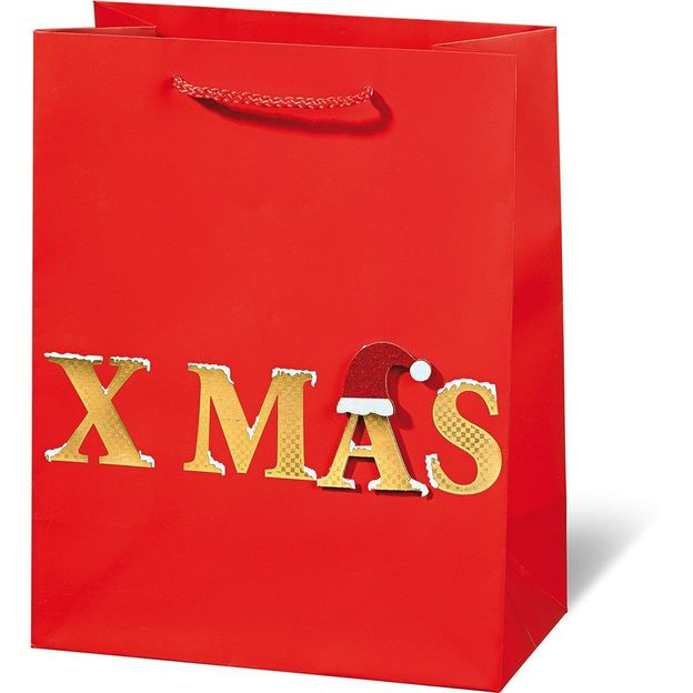 Geschenktasche X-Mas