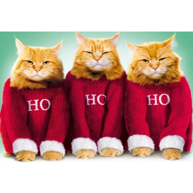 Carte de Noël HoHoHo