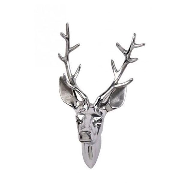 Tête de cerf  Windhuk trophée patère