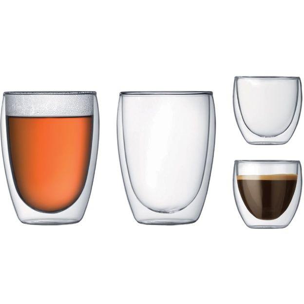 Pavina doppelwandige Gläser 4er Set